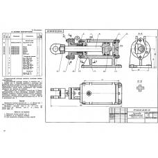 МЧ00.26.00.00 Цилиндр гидравлический (KOMPAS 3D 13)