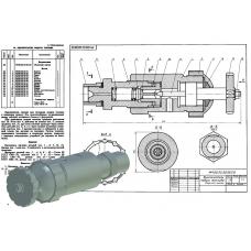МЧ00.02.00.00 Выключатель подачи топлива (T-Flex CAD 3D 12)