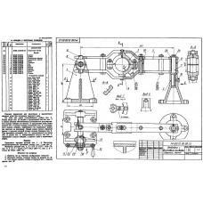 МЧ00.12.00.00 Отводка с винтовым приводом (T-Flex CAD 3D 12)