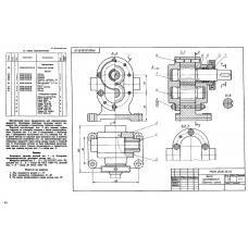 МЧ00.20.00.00 Насос шестеренный (T-Flex CAD 3D 12)