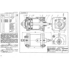 МЧ00.28.00.00 Цилиндр пневматический (KOMPAS 3D 13)