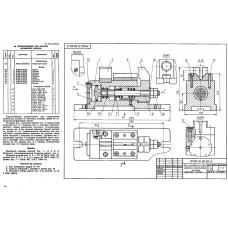 МЧ00.32.00.00 Приспособление для нарезки сегментных шпонок (KOMPAS 3D 13)