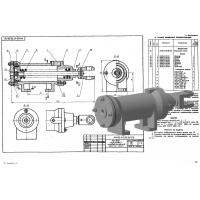 МЧ00.47.00.00 Привод поршневой пневматический (KOMPAS 3D 13)