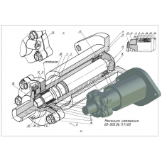 00-000.06.11.11.00 Механизм натяжения (T-Flex CAD 3D 12)