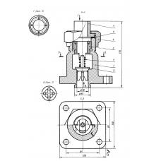 """01 Клапан обратный из """"Сборник заданий по инженерной графике Миронов Б.Г."""" (T-Flex CAD 3D 12)"""