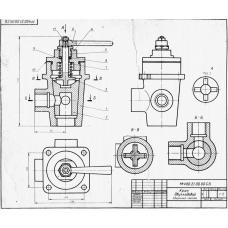 МЧ00.21.00.00 Кран двухходовой (T-Flex CAD 3D 12)